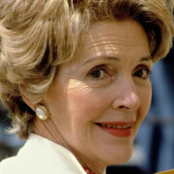 Reacting to Nancy Reagan's Death…