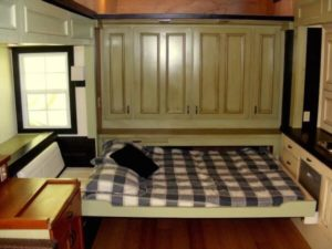 Baby Boomer home with pull out sleeping space.