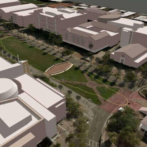 75th Anniversary of Pearl Harbor: Memorial at University of Arizona