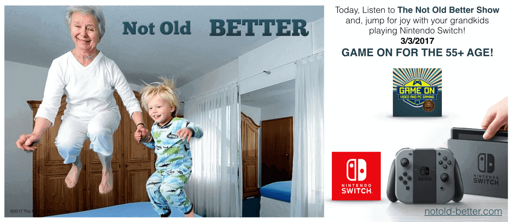 Nintendo Switch The Not Old Better Show