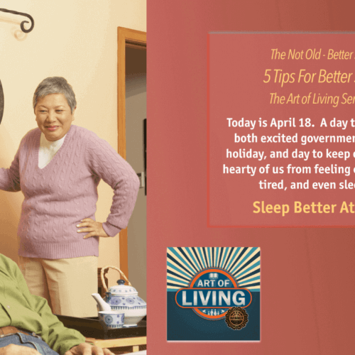 5 Tips To Sleep Better The Not Old Better Show