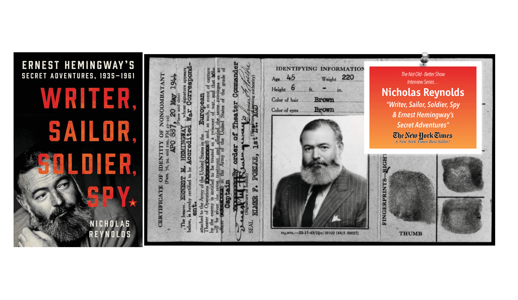 Ernest Hemingway: Author & SPY! The Not Old Better Show