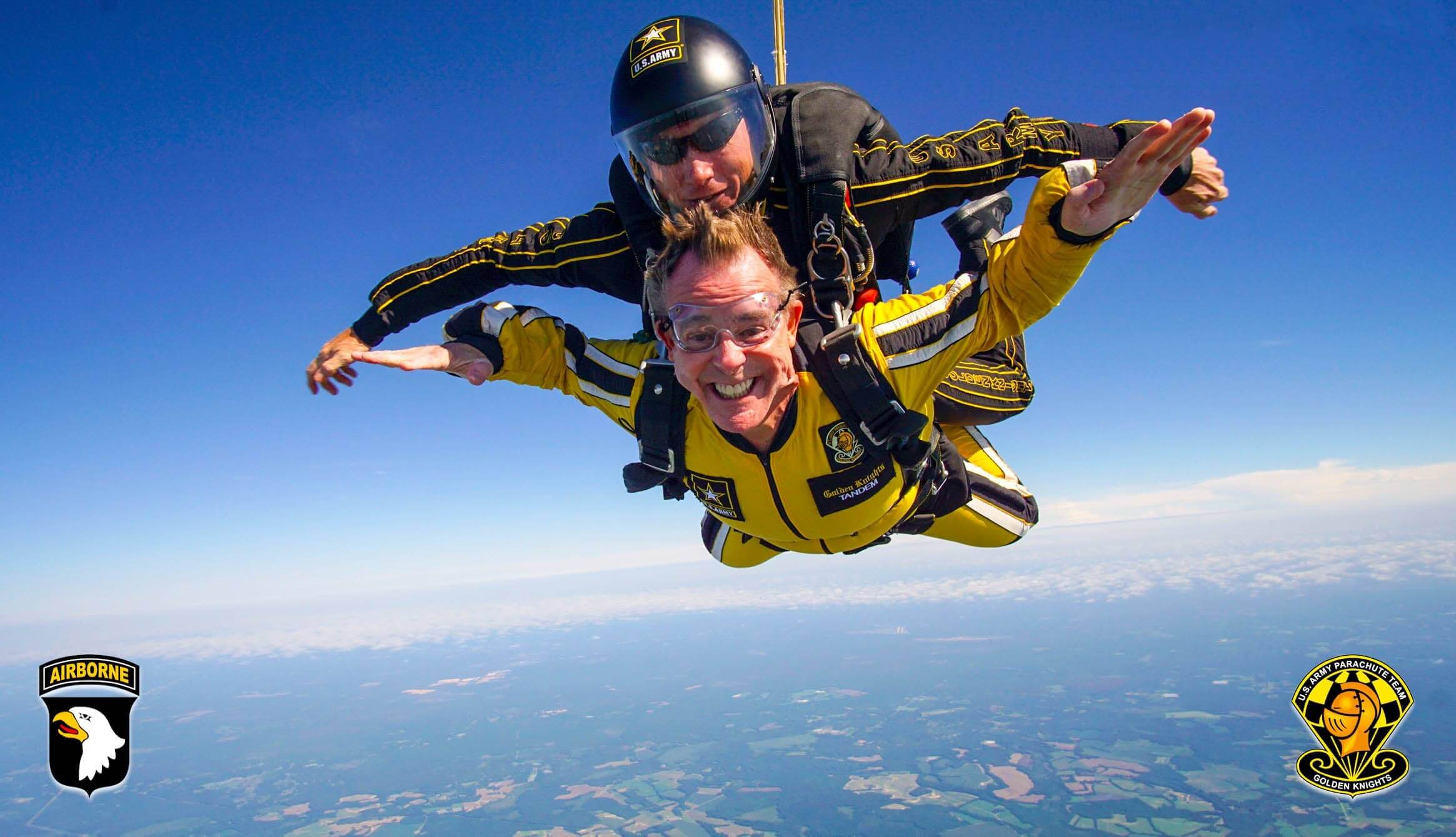 Golden Knights, Fort Bragg, Go Army, The Not Old Better Show, Paul Vogelzang, Skydiving