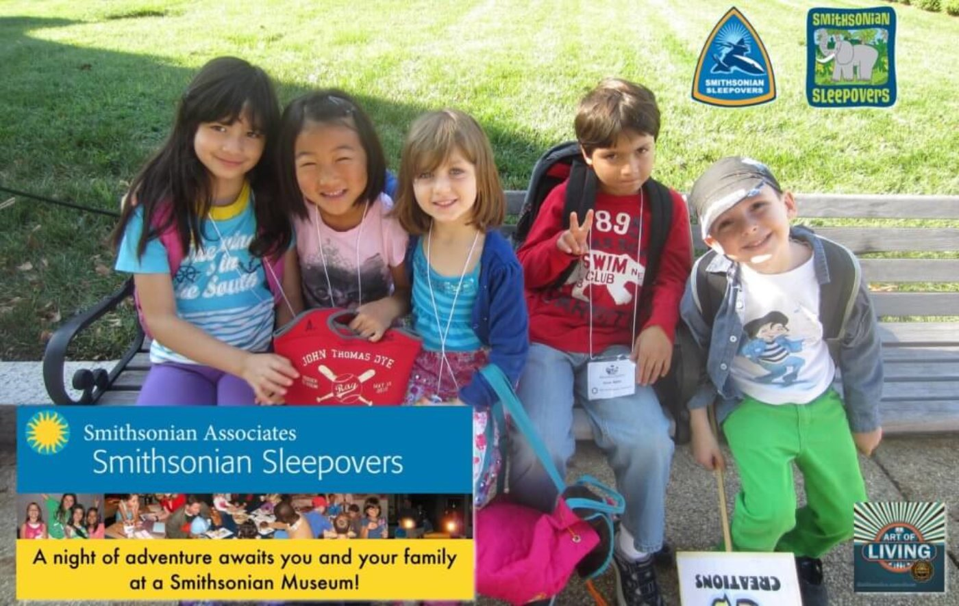 Smithsonian Sleepovers : Spend a night at the National Museum of American History, Air & Space, and Natural History!