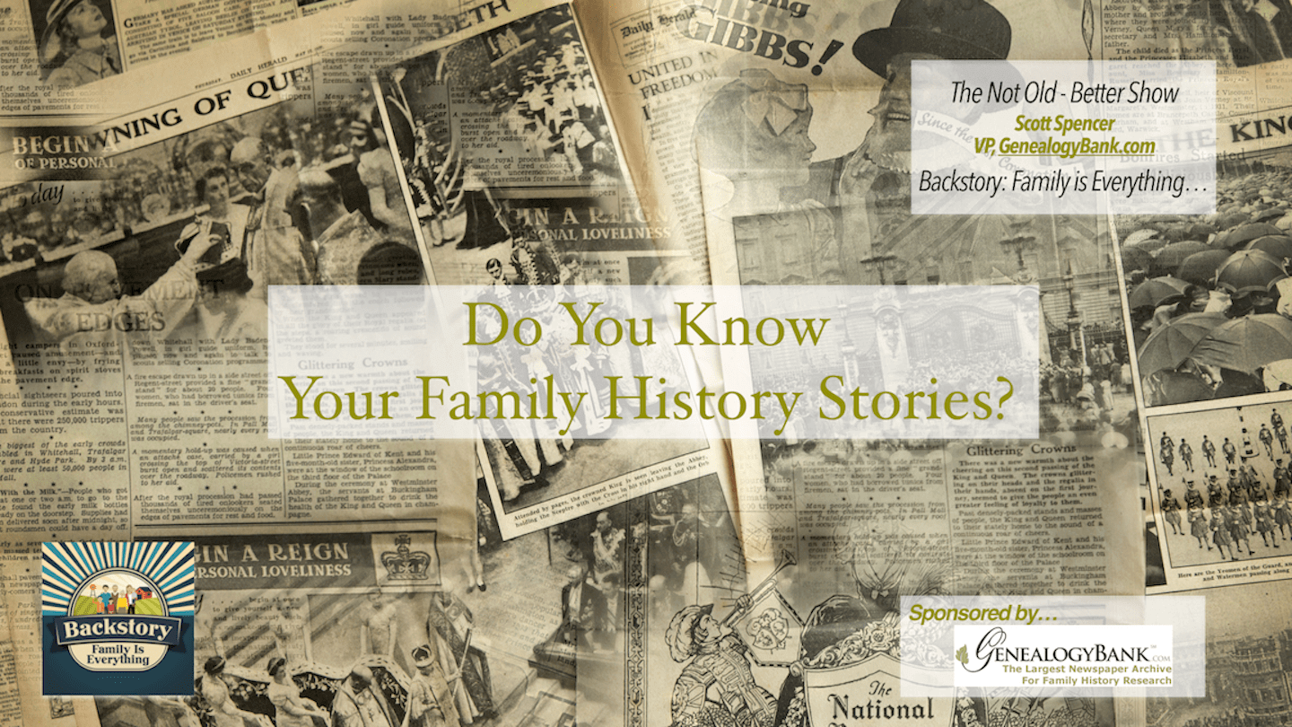 #180 Do You Know Your Family History Stories?