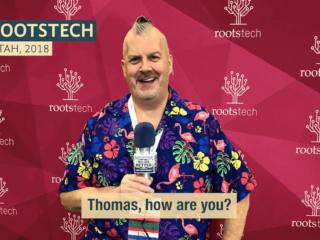 #183 Thomas MacEntee RootsTech 2018: Looking Ahead