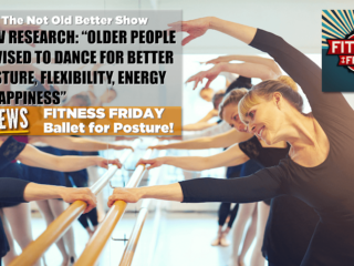 Just this week, Queensland Ballet released the results of a joint project examining the health and wellbeing benefits of ballet for older Australians.
