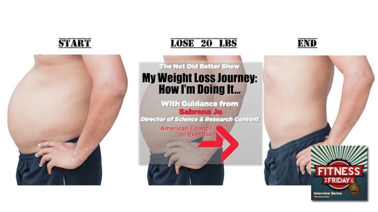 #244 My Weight Loss + Back Pain - Sabrena Jo