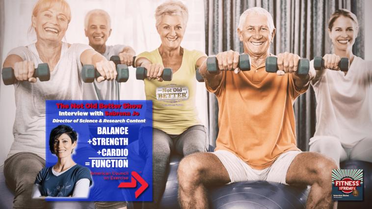 #321 Balance + Strength + Cardio = Function