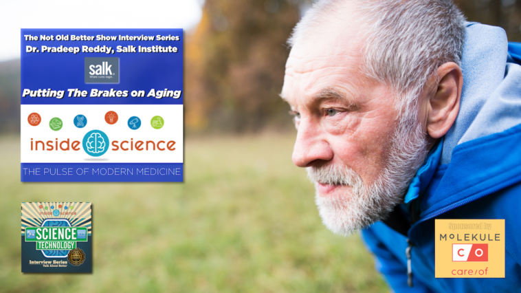 #328 Putting The Brakes On Aging - Dr. Pradeep Reddy