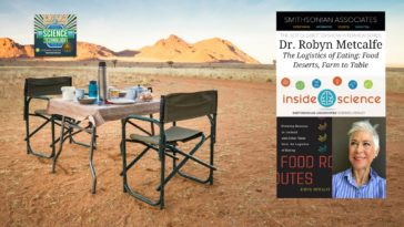 #351 How Food Gets From Farm to Table - Dr. Robyn Metcalfe
